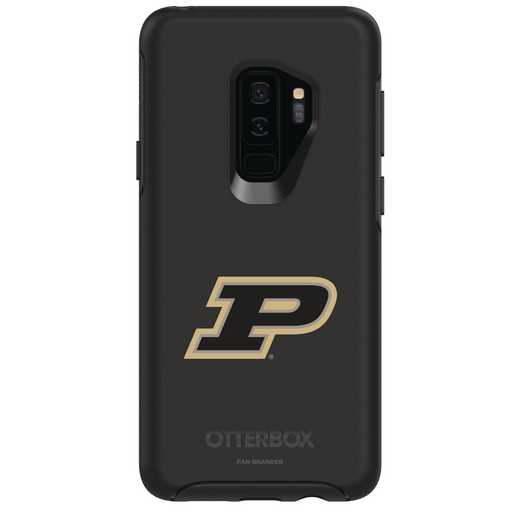 GAL-S9P-BK-SYM-PUR-D101: FB Purdue OB SYMMETRY Case for Galaxy S9+